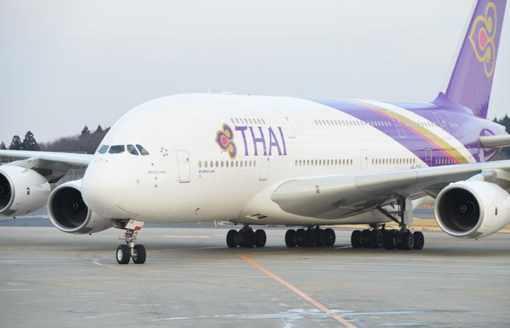 タイ国際航空、パイロット395人削減へ A380退役も