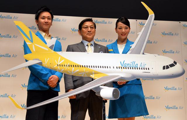 バニラ・エア、成田拠点に那覇や台北など4都市就航 12月20日から、グアム