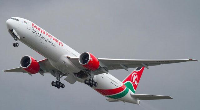 ボーイング、ケニア航空に777-30...