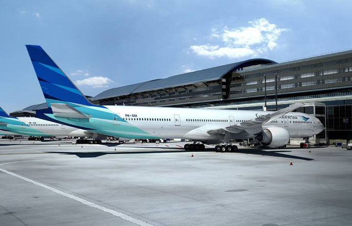 ガルーダ・インドネシア航空、羽田・成田の供給過剰是正 成田-ジャカルタ一部運休