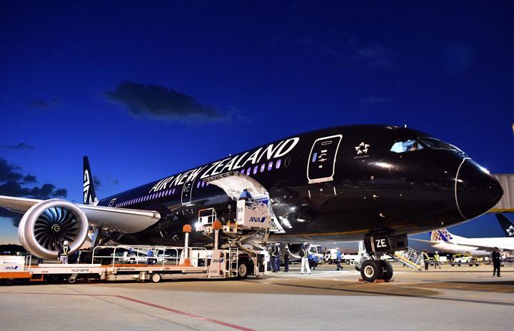 ニュージーランド航空、成田-オークランド再開へ 3カ月ぶり