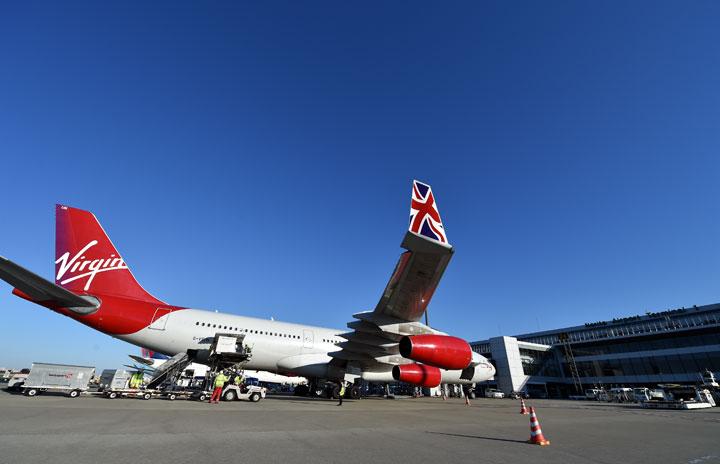 英ヴァージン、22年黒字化へ 20日旅客便再開、1600億円支援決定