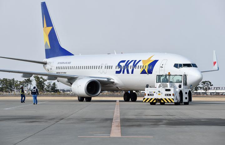 スカイマーク、12歳未満も優先搭乗に 子供連れ客、定時性向上狙う
