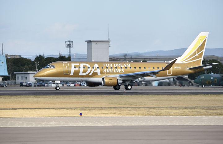 FDA、丘珠-松本季節運航 6-9月に、静岡期間増便も