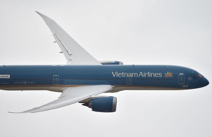 ベトナム航空、12月までハノイ発成田行きのみ 片道週2便
