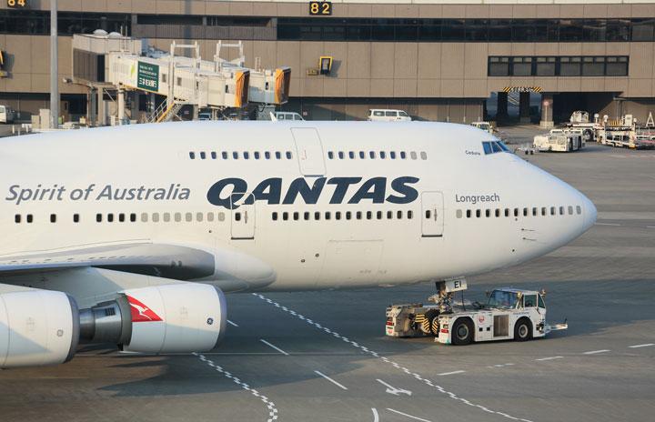 カンタス航空の747、22日に最終運航 退役前に「お別れフライト」も