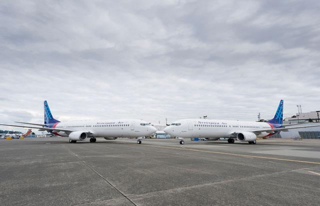 スリウィジャヤ航空、737-900ERを2機受領