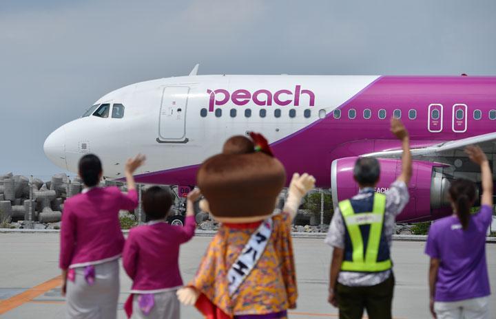 ピーチ、那覇2路線10月就航 札幌・仙台、拠点間の路線強化へ