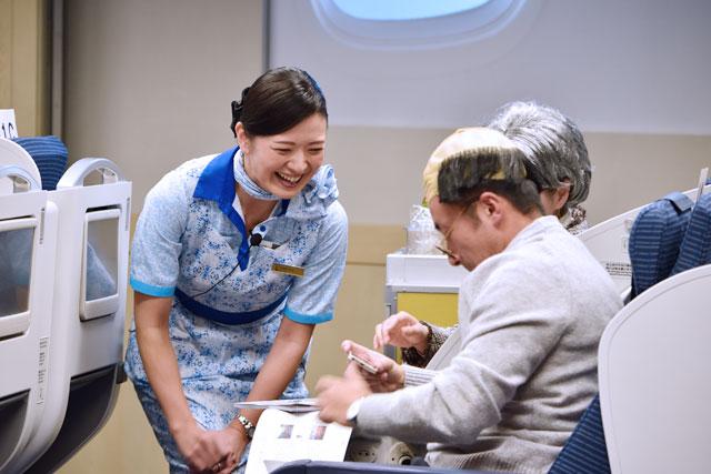 個人部門に出場する樋之口 みゆきさん=12月2日 PHOTO: Tadayuki YOSHIKAWA/Aviation Wire