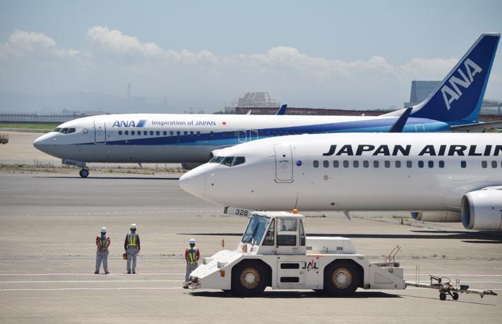 JALとANA、羽田-仙台臨時便 東北新幹線運休で