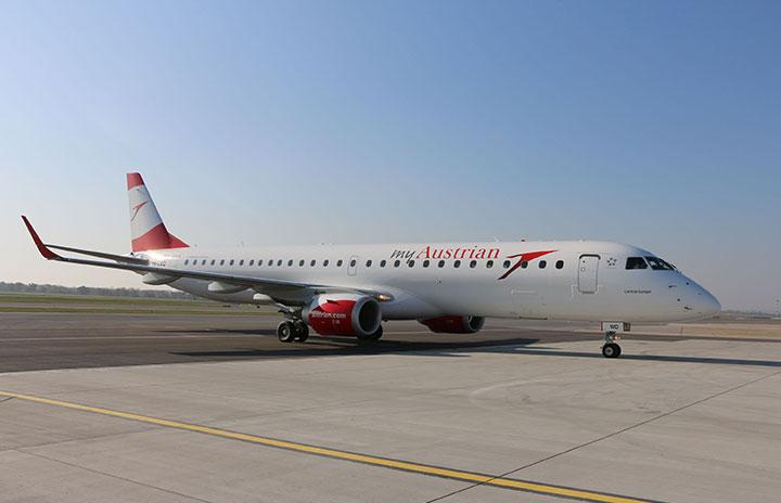 オーストリア航空、15日に運航再開 3カ月ぶり