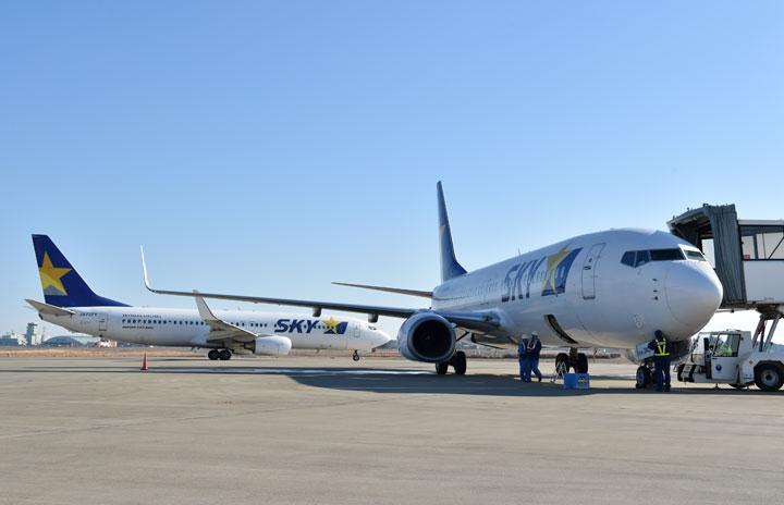 スカイマーク国内線、復便傾向に 減便率43.4%、運休は成田-中部のみ