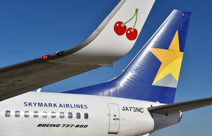 スカイマーク、4-6月期搭乗率38.7% 旅客数は最大9割減
