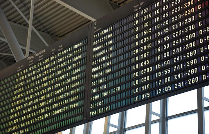 国際・国内利用率54.1% IATA、1月旅客実績