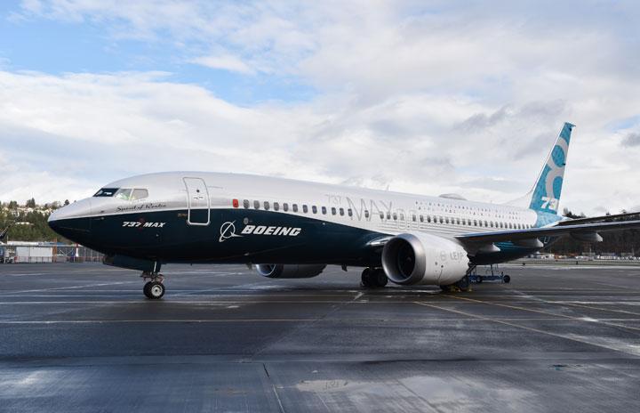 737MAX、電気系統問題で運航停止 ボーイングが勧告