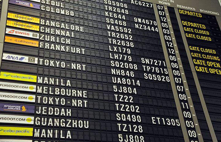 8月の国際・国内線利用率70.0% IATA旅客実績 thumbnail
