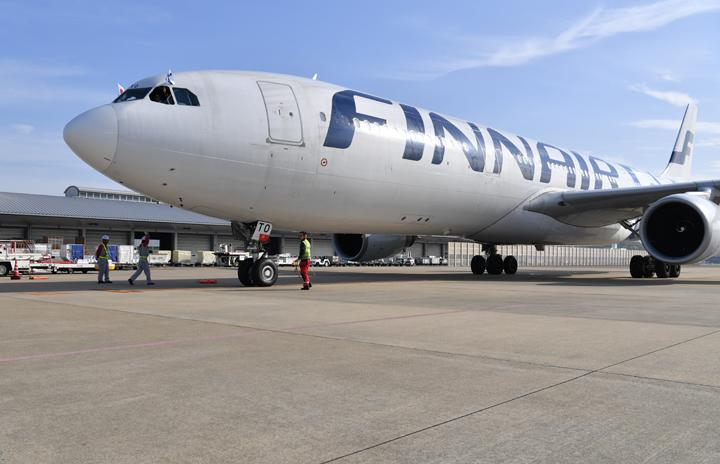 フィンエアー、A330客室も貨物室に 搭載量2倍