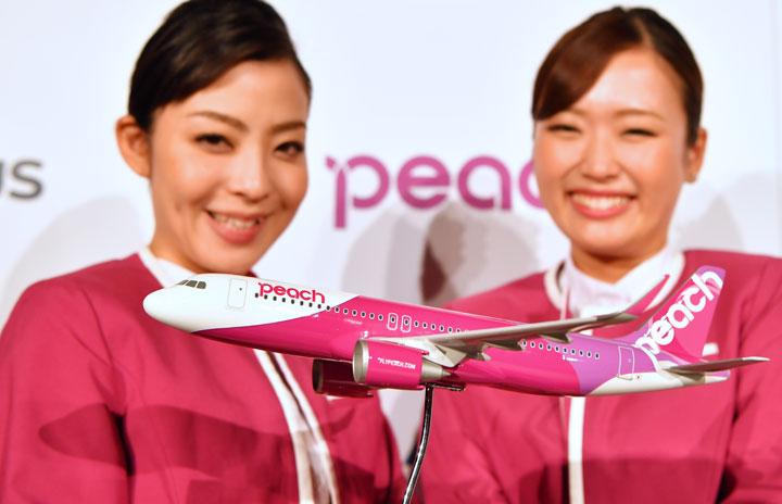 ピーチ、A320neoを9月初受領 A321LRは国内幹線投入も