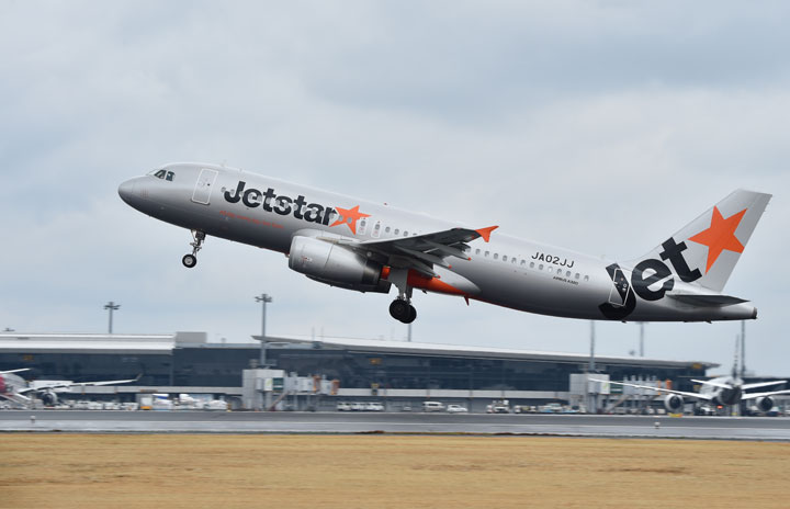 ジェットスター・ジャパン、2月は国内6路線のみ 減便率85.5%に