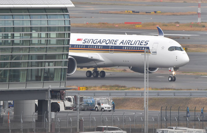 シンガポール航空、羽田再開延期 緊急事態再発令で、既存路線は継続