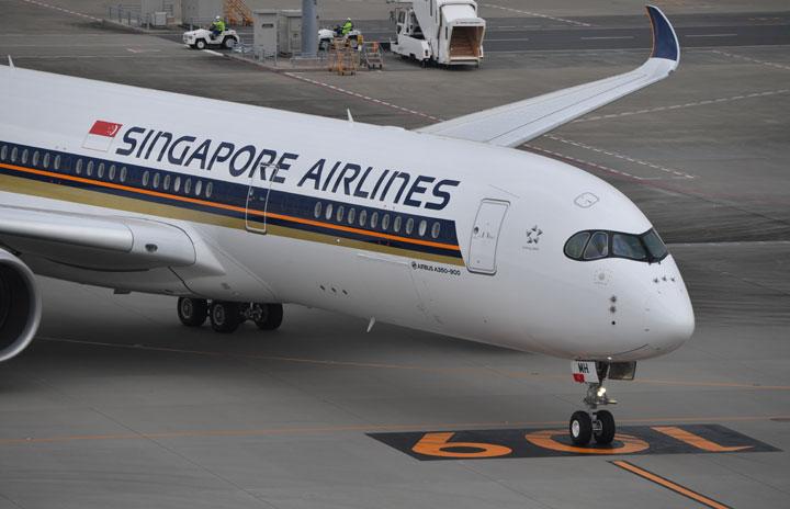 シンガポール航空、羽田3月再開 A350で週3往復