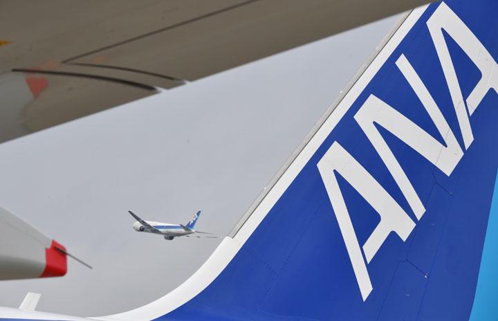 ANA国内線、前年度比15%縮小へ 大型機は5割削減