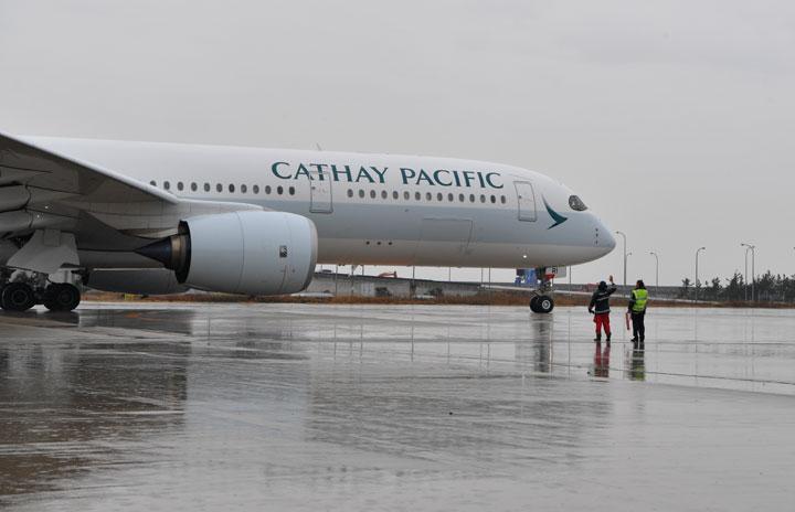 キャセイパシフィック航空、8月も成田便除き運休続く