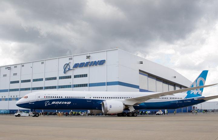 ボーイング、787最終組立をサウスカロライナ集約 シアトルは21年まで