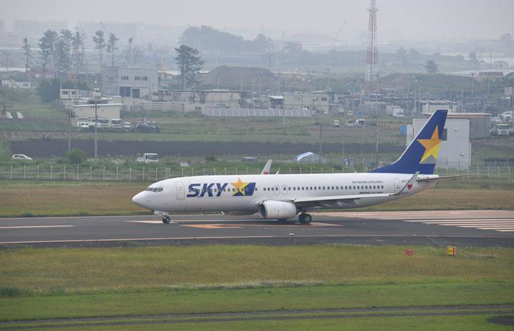 スカイマーク、羽田-仙台臨時便運航へ 東北新幹線運休で