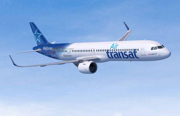 エア・トランザット、A321LR導入 北米初、19年就航