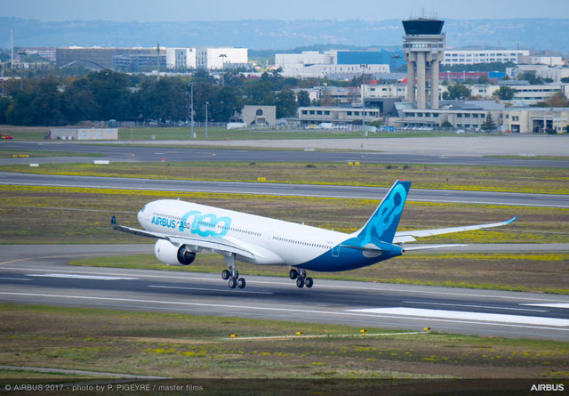 エアバス、A330neo初飛行成功 初商業運航はTAPポルトガル航空