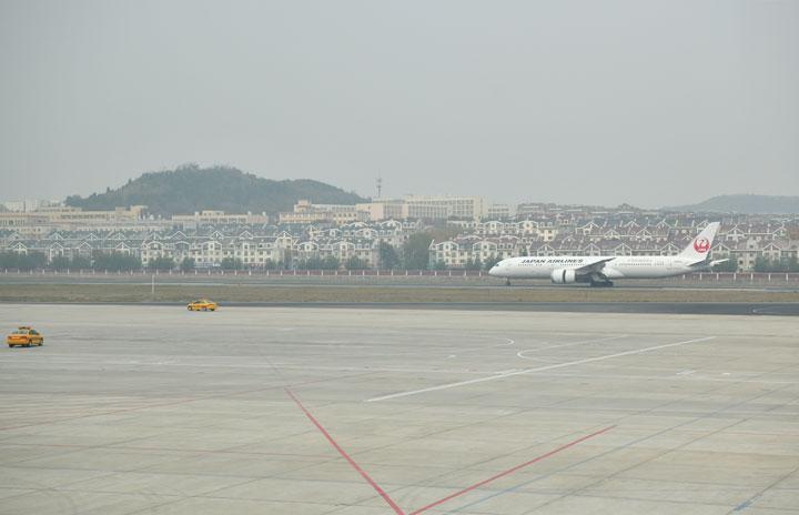 JAL、成田-大連増便 18日から週3往復に