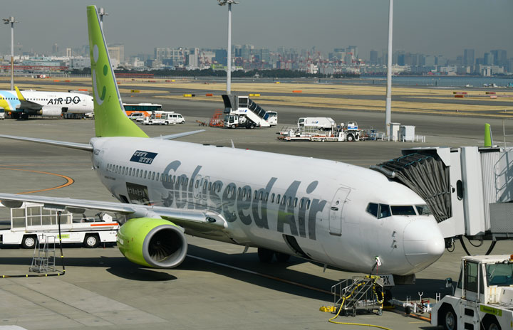 ソラシド、4月減便率大幅に改善 3路線52便