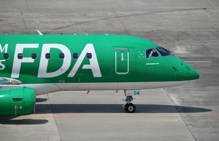 FDA、9路線で追加減便 8月25日から