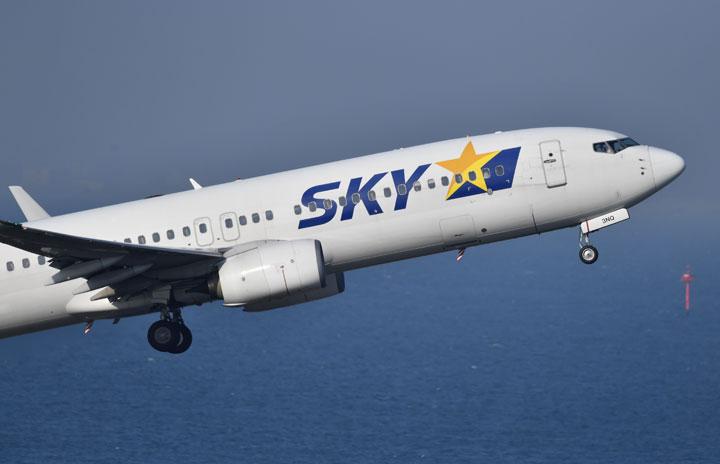 スカイマーク、羽田-福岡臨時便 6月に3日間、1往復ずつ