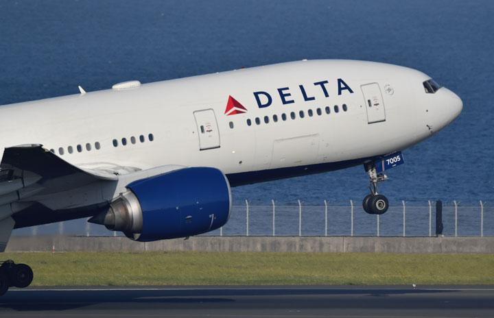 デルタ航空20年4-6月期、最終赤字57億ドル 旅客収入94%減