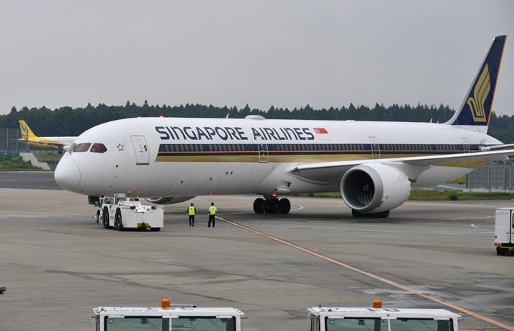 シンガポール航空、成田12月増便 週6往復、関空・福岡も継続