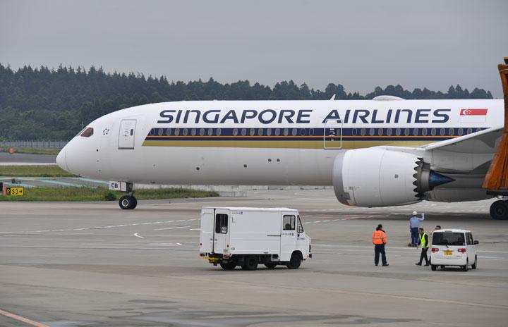 シンガポール航空、成田週3往復継続 夏ダイヤ、関空は週2往復