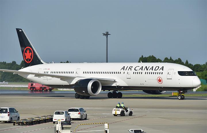 エア・カナダ、成田-トロント再開 週3往復