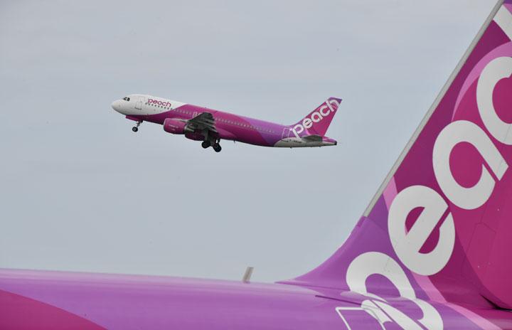 ピーチ、再開便告知の特設ページ 運航・運休便を区別、視認性高める