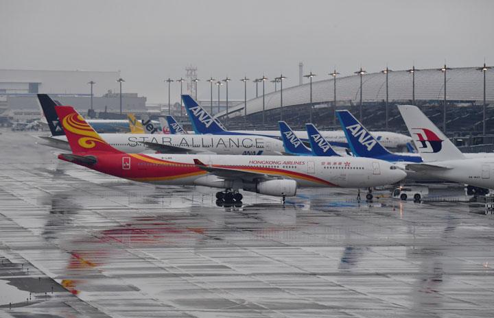 香港航空、関空1月再開 毎週土曜