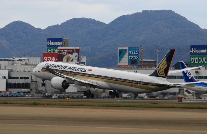 シンガポール航空、福岡11月再開 成田・関空は増便