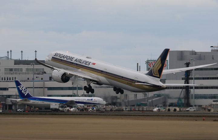 シンガポール航空、福岡増便 週2往復に