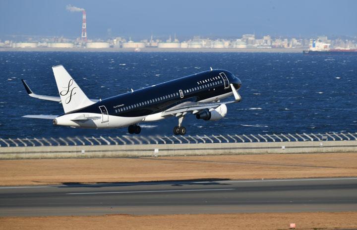 スターフライヤー、5月の国内線旅客91.0%減 国際線は全便運休続く