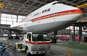 3月末で退役予定の現政府専用機B-747=19年3月24日 PHOTO: Tadayuki YOSHIKAWA/Aviation Wire