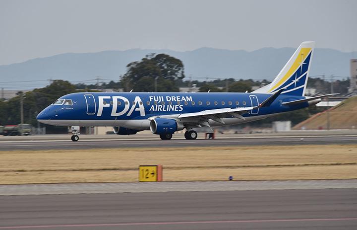 FDA、新潟発着の遊覧飛行