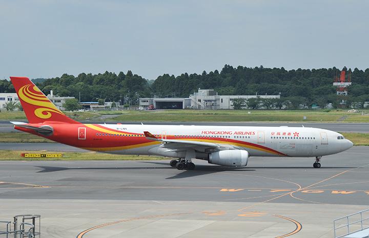香港航空、成田11月再開 週1往復