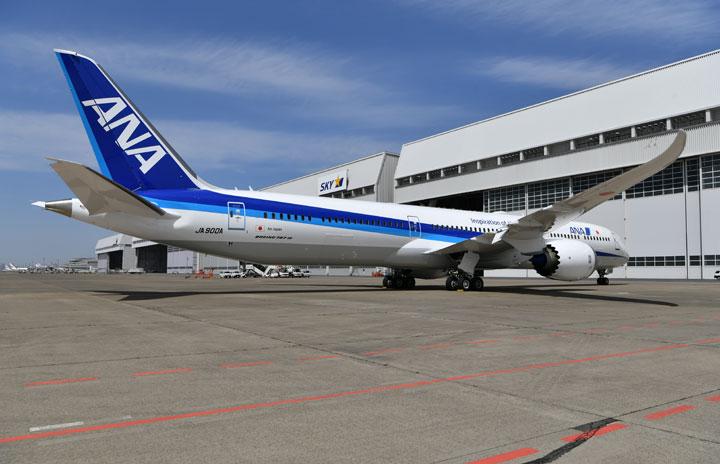 787胴体不具合、ANAも1機該当 787-10の2号機