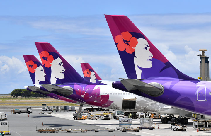 ハワイアン航空、成田週3往復GW増便 関空は週1往復、4-5月