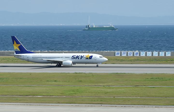 スカイマーク、羽田-神戸期間増便 夜9時台発、6月まで1日8往復に